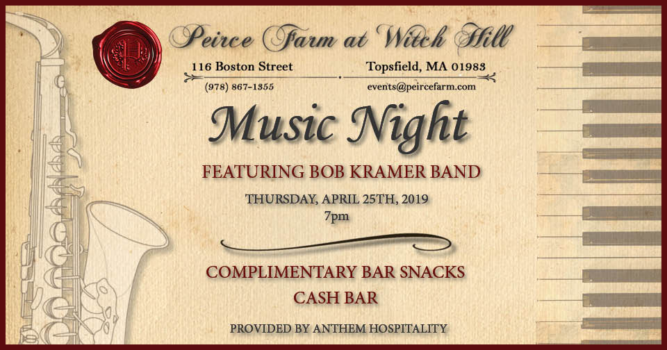 Band Night Graphic April 25th 2019